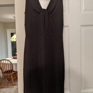 Black mid dress